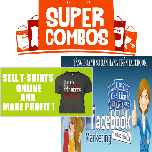 Combo 2 kh a h c ch y qu ng c o facebook t c b n n for T shirt ads on facebook